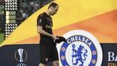Kiper Republik Ceko Petr Cech menjalani laga terakhir di Azerbaijan pada 29 Mei 2019 saat Arsenal dikalahkan mantan klubnya, Chelsea, pada final Liga Europa 2019. (Kirill KUDRYAVTSEV / AFP)