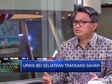 BEI Targetkan Transaksi Harian di Bursa Capai Rp 9 T di 2020