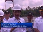 Presiden Jokowi Resmikan Bendungan Kamijoro