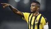 Samuel Eto'o mengumumkan pensiun pada 7 September 2019. Legenda Kamerun itu terakhir memperkuat klub Qatar SC. (KARIM JAAFAR / AFP)