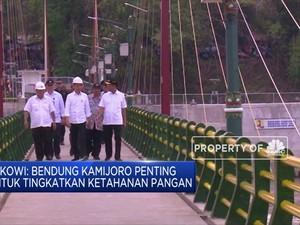 Akhir Tahun 2019, Jokowi Resmikan Bendung Kamijoro