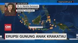 VIDEO: Gunung Anak Krakatau Kembali Erupsi