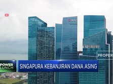 Cieee. Singapura Kebanjiran Dana Asing