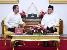 Temui Prabowo di Istana Yogyakarta, Jokowi: Ini Tamu Besar