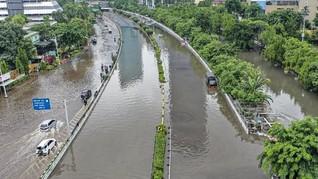 PUPR Sebut Penyebab Banjir Jakarta karena Kondisi Drainase