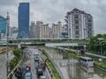 Daftar Lokasi Masih Tergenang Banjir di Jakarta Kamis Ini
