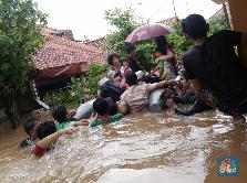 Korban Meninggal karena Banjir Jabodetabek Mencapai 26 Orang
