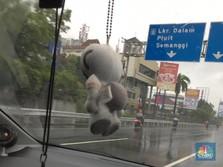 Tol Dalam Kota Jakarta Banjir, Ini Skema Pengalihan Kendaraan