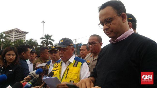 Anies dan Basuki Beda Pendapat soal Penyebab Banjir Jakarta