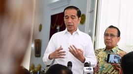 Jokowi: Kontrol Banjir Terkendala Pembebasan Lahan Sejak 2017