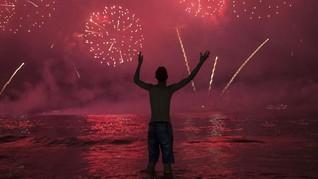 FOTO: Semarak Tahun Baru 2020 dari Seluruh Dunia