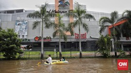 Batal Tuntut Soal Banjir, Pemilik Mal DKI Minta Diskon Pajak