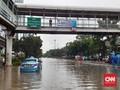 Banjir Buat Lalu Lintas Cawang Lumpuh