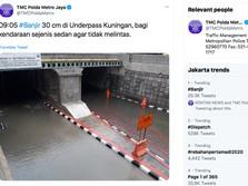 Hari Pertama Tahun Baru 2020, #Banjir Jadi Trending Topic