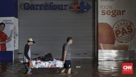 Pengusaha Ritel Mengaku Kerugian Banjir Jakarta Dekati Rp1 T