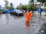 Begini Penampakan Banjir Dahsyat di Jakarta Hingga Bekasi
