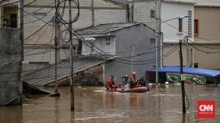 Banjir Jakarta, PLN Matikan 1.650 Gardu Listrik