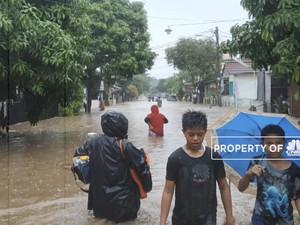 Sambut Tahun Baru 2020, Jakarta Kebanjiran