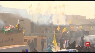 VIDEO: Kedutaan Amerika Serikat di Baghdad Diserbu