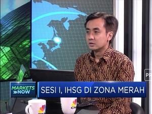 Data Inflasi 2019 Rendah, IHSG Masuk Zona Merah
