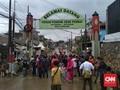 2 Balita Masih Terjebak Banjir di Pondok Gede Permai Bekasi