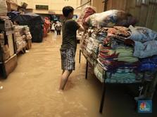Daftar Pasar Tradisional di DKI yang Lumpuh Kena Banjir