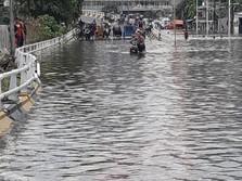 Mulai Surut! 9 Pintu Air di Jakarta Berstatus Siaga 4