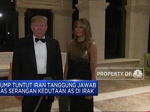 Trump Tuntut Iran Atas Serangan Kedutaan AS di Irak