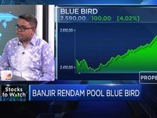 Analisis Dampak Banjir Yang Menggenangi Pool Taksi Blue Bird