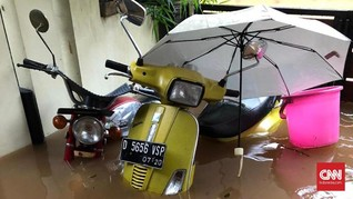 Tips Rawat Sendiri Motor Usai Terendam Banjir
