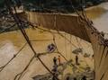 Jembatan Gantung Diterjang Banjir Bandang, Empat Orang Tewas