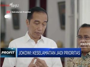 Jokowi: Utamakan Keselamatan dan Normalisasi Fasilitas Umum
