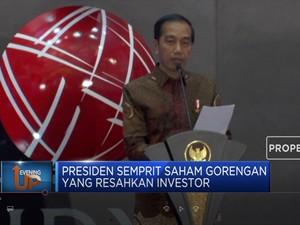 Presiden Semprit Saham Gorengan di Pasar Modal