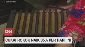 VIDEO: Cukai Rokok Naik 35 Persen