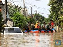 10 Pintu Air di Jakarta Berstatus Siaga 4, Angke Hulu Siaga 1