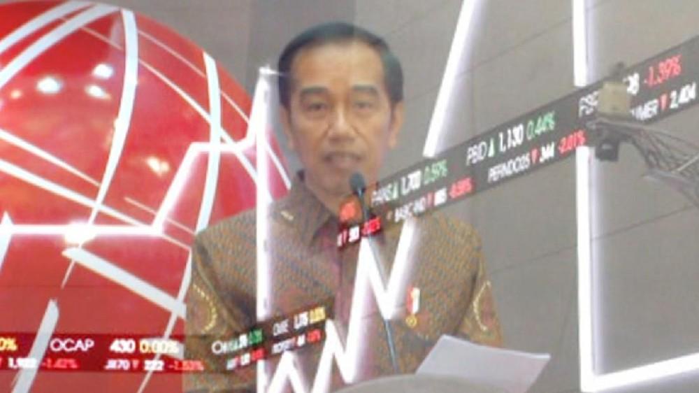 Jokowi Perintah Bersih-bersih Saham Gorengan
