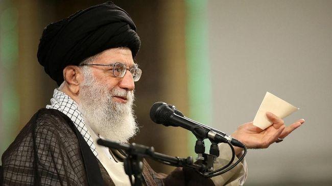 Pemimpin Iran Puji Serangan ke AS Meski Korban Minim
