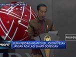 Presiden Jokowi: Setop Manipulasi Saham-Saham Gorengan