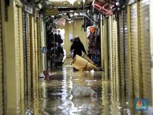 Duh! 73 Pasar Lumpuh Kena Banjir, Kerugian Rp 350 Miliar
