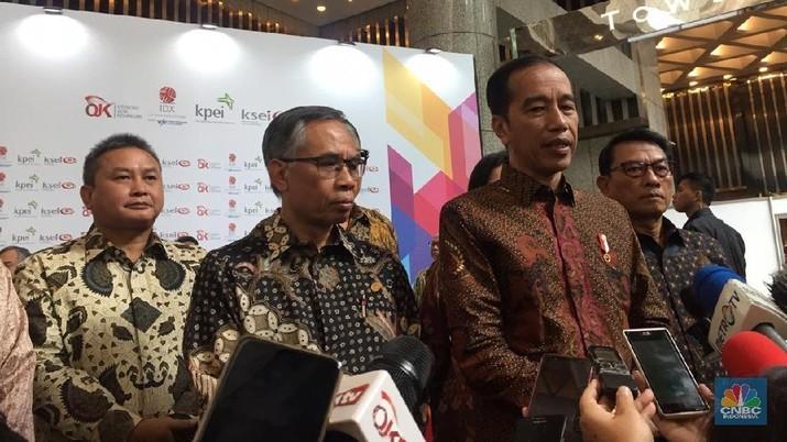 Jokowi mencanangkan pada 2020 menjadi tahun bersih-bersih pasar modal dari manipulator.
