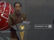 Detik-detik Saat Jokowi Sampaikan akan Sikat Pengoreng Saham