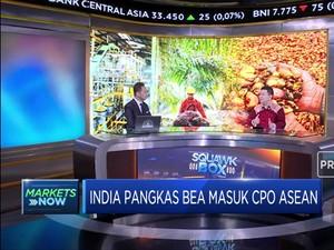 Analisis Dampak Kebijakan India Pangkas Bea Masuk CPO ASEAN