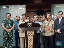 Konflik Natuna dengan China, Prabowo & Luhut Bersikap Cool