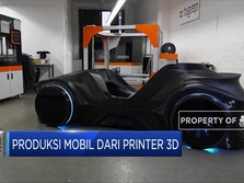 Siap-Siap! Mobil Bisa Diproduksi Dari Printer 3D