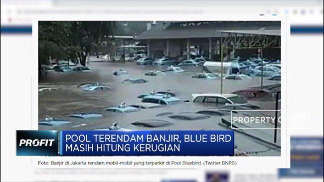 BIRD Pool Terendam Banjir, Blue Bird Masih Hitung Kerugian