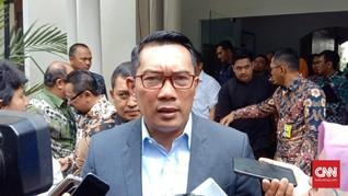 Ridwan Kamil Setop Sementara Pembangunan di Bandung Utara