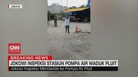 VIDEO: Jokowi Sidak Stasiun Pompa Air Waduk Pluit