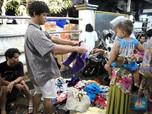 Pasrah, Ini Kondisi Pengungsi Korban Banjir di Ciledug indah