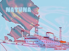 Natuna Bikin RI-China Bergejolak, Apa Itu Nine Dash Line?