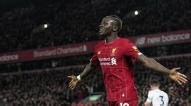 Sadio Mane Ikhlas Jika Liverpool Gagal Jadi Juara